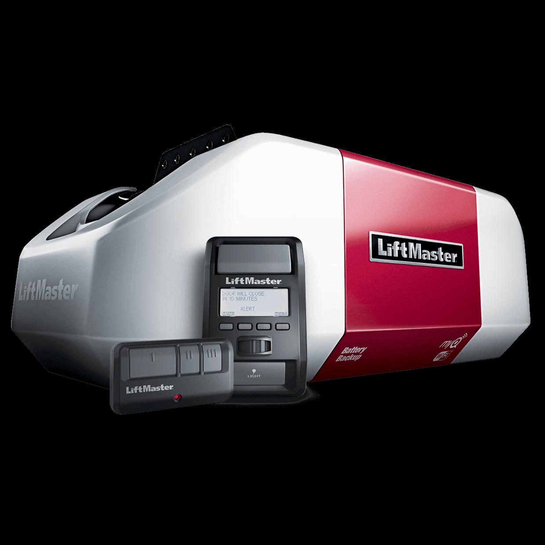 8550W DC Battery Backup Belt Drive WiFi Garage Door Opener
